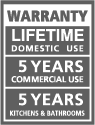 Faus lifetime warranty